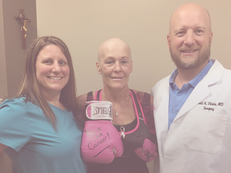 BRAS for A CAUSE Fighting Cancer with Julie